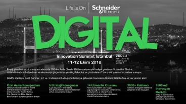 Schneider Electric Innovation Summit 2018 - İSTANBUL